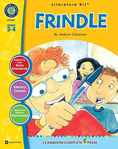 9781553194897: Frindle - Novel Study Guide Gr. 3-4 - Classroom Complete Press (Literature Kit)