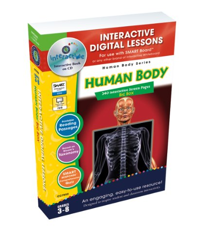 9781553195009: Human Body, Grades 3-8 [With User Guide] (Human Body (Classroom Complete Press))