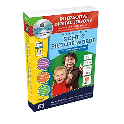 Sight & Picture Words Big Box - Digital Lesson Plans (Literacy Skills): Staci Marck