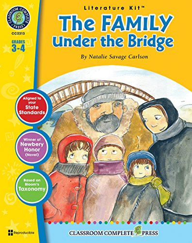 9781553195566: The Family Under the Bridge - Novel Study Guide Gr. 3-4 - Classroom Complete Press