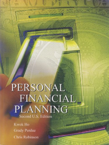9781553221395: Personal Financial Planning