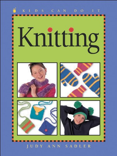 9781553370505: Knitting (Kids Can Do It)