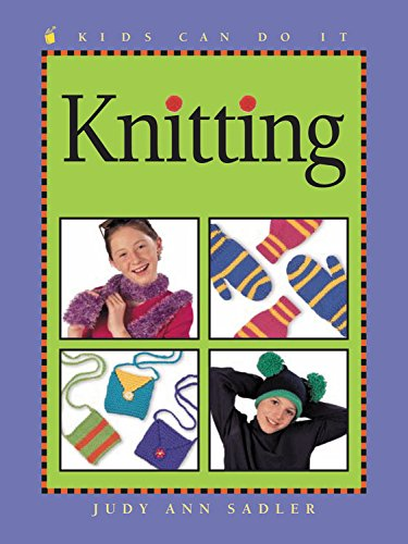 9781553370512: Knitting (Kids Can Do It)