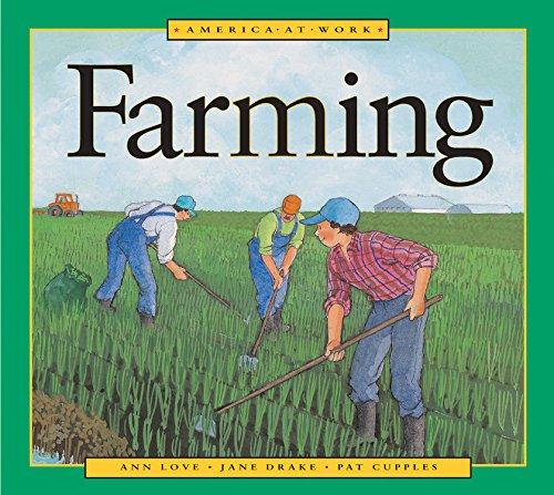 9781553374213: America at Work: Farming
