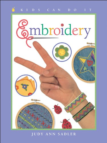 9781553376163: Embroidery (Kids Can Do It)