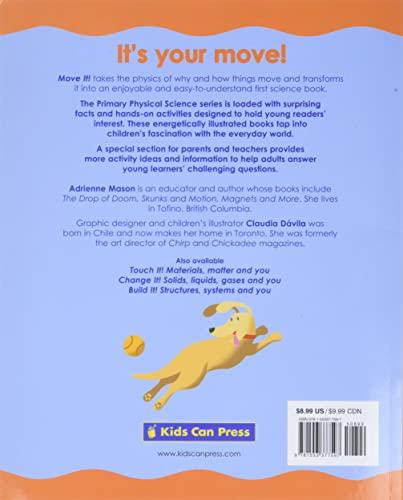 9781553377597: Move it! (Primary Physical Science)