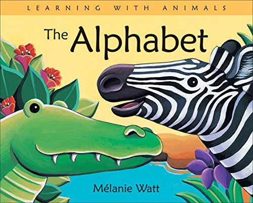 9781553378297: The Alphabet (Learning with Animals)
