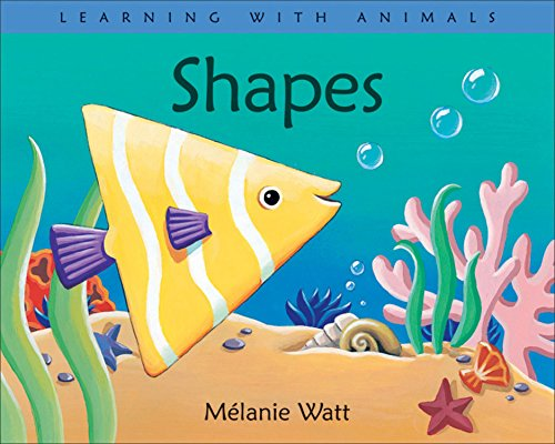 9781553378334: Shapes (Learning with Animals)