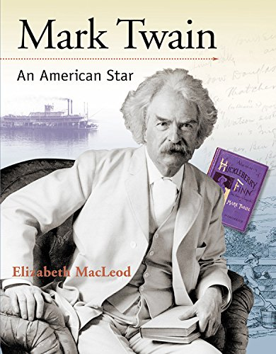 9781553379096: Mark Twain: An American Star (Snapshots: Images of People and Places in History)