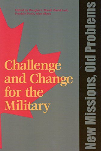 9781553390350: New Missions, Old Problems (Challenge and Change for the Military)