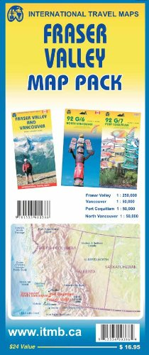 Map Pack - Fraser Valley: ITMB Publishing Ltd.