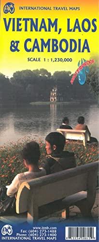 9781553410812: Vietnam, Laos & Cambodia 1:1,250,000 Regional Travel Map