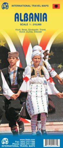 Albania Travel Map: 1:210,000: Itmb Canada