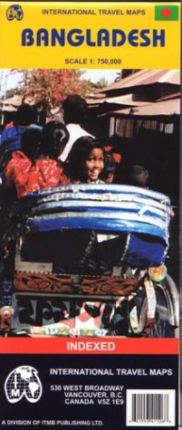9781553411260: Carte routière : Bangladesh