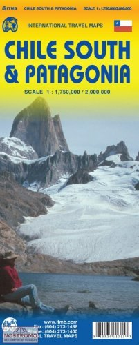 9781553411314: Chile South & Patagonia 1:1,750,000/2,000,000 (International Travel Maps)