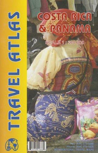 9781553411888: Costa Rica and Panama Road Atlas (English and Spanish Edition)
