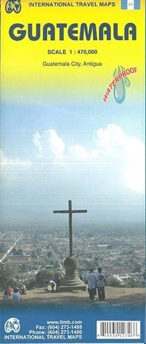 Guatemala 1 : 470 000 : International Travel Maps