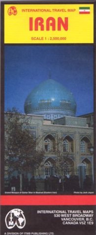 9781553412519: Iran Map