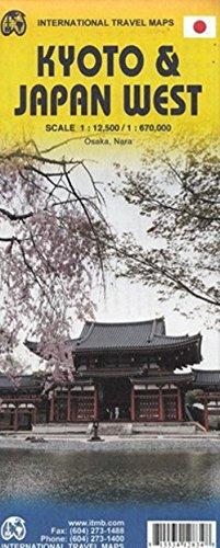 1. Kyoto & Japan South Travel Reference Map 1:12K/1:1,1M: ITMB Publishing LTD