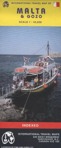 9781553413158: Malta & Gozo 1:40,000 itmb 2002 (Travel Reference Map)