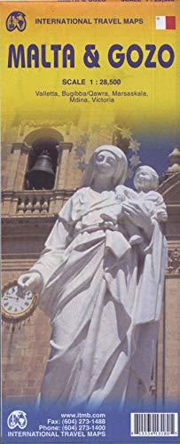 9781553413189: Malta & Gozo Travel Map 1 : 40 000