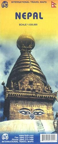 1. Nepal Travel Reference Map 1:530,000 (International Travel Maps): International Travel maps