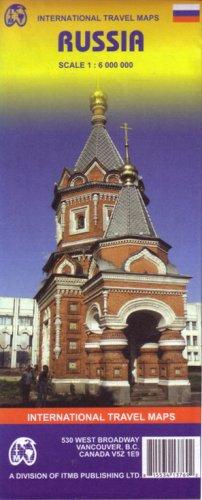 9781553413769: Russia : 1/6 000 000 (International Travel Maps)