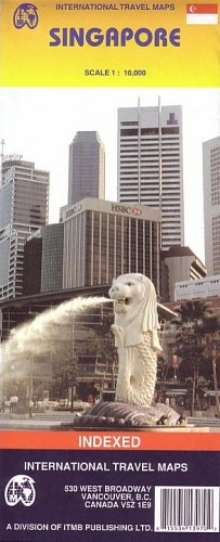 9781553413974: Singapore (Travel Reference Map) (International Travel Maps)