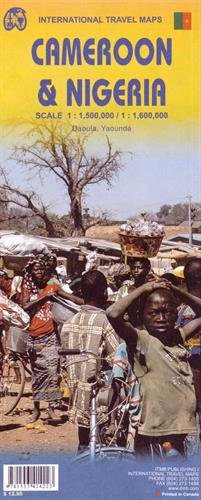 9781553414223: Nigeria & Cameroon ITM Travel Map