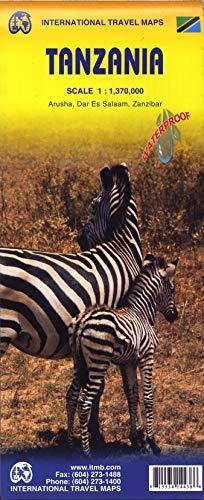 9781553414438: 1. Tanzania Travel Reference Map 1:1,370,000
