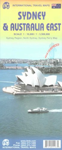 Sydney City Map 1 : 10 000 & Australia East 1 : 3 500 000: Sydney Region, North Sidney, Sidney ...