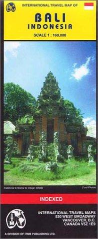 9781553415541: Carte routière : Bali (en anglais)