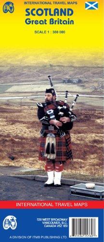 9781553415763: Scotland (Britain) 1:380,000 Travel Map (International Travel Maps)