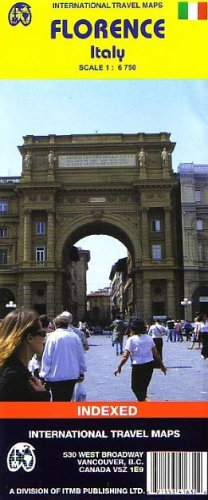 9781553416326: 1. Florence/Firenze (Italy) ITM City Map 1:6,750 (Travel Reference Map)
