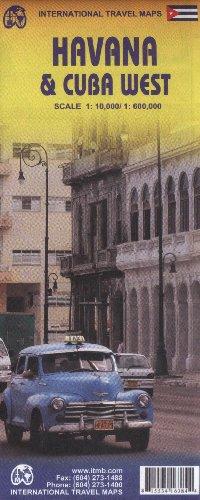 9781553416388: Havana 1:10,000 & Cuba West 1:600,000 (International Travel Maps)