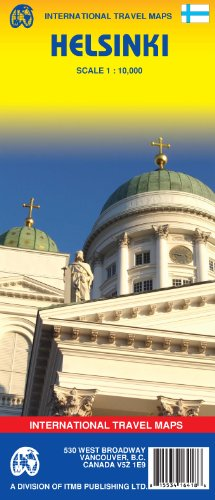 9781553416418: Helsinki Map 1:10,000 Street Map 2007