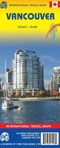 9781553417132: Vancouver City Map