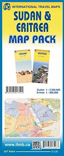9781553417521: Map Pack - Sudan & Eritrea