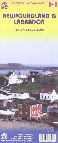 Newfoundland and Labrador 1:750,000 / 1:385,000- 2009***: ITM Canada