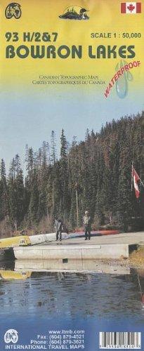9781553418511: Bowron Lakes 1:50,000 93 H/2&7 (BC, Canada) Hiking Map (International Travel Maps)