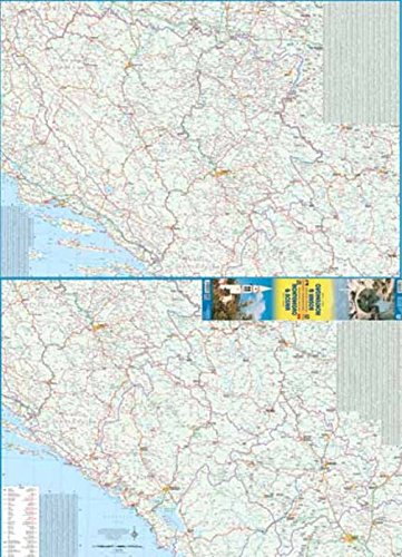 9781553419242: 1. Bosnia & Montenegro 1:400,000 Travel Refer