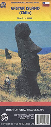 9781553419273: Easter Island (Travel Reference Map)