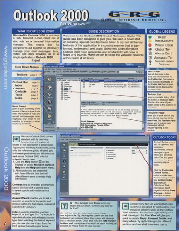 Outlook 2000: Quick Reference Guide: Drew Sellers