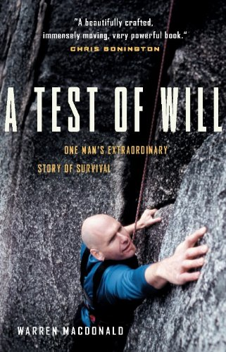 9781553650645: A Test of Will: One Man's Extraordinary Story of Survival