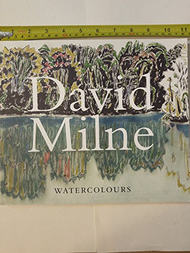 9781553651338: David Milne Watercolours: Painting Towards the Light