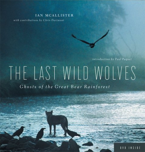THE LAST WILD WOLVES: Ghosts of the Great Bear Rainforest: McAllister, Ian
