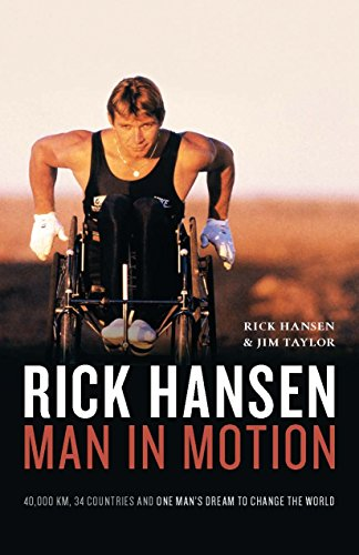9781553658542: Rick Hansen Man in Motion