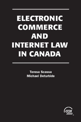 9781553673705: Electronic Commerce and Internet Law in Canada