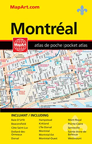 MapArt Montreal Pocket Guide