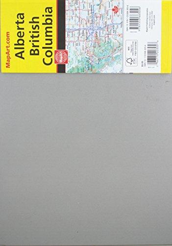 British Columbia Alberta Road Map AbeBooks - Us canada road map